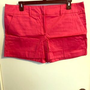NWOT Solid Hot Pink NY&Co Cuffed Shorts